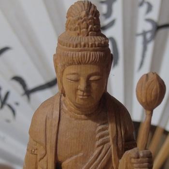 おじいちゃんの仏像