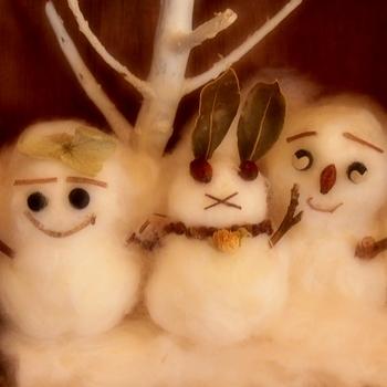 手作り・雪だるま.jpg